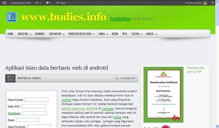 budiesandroid